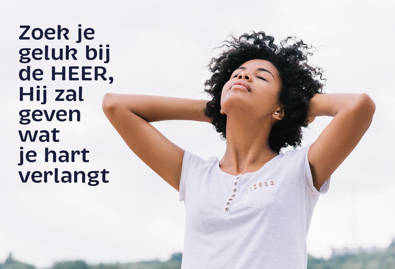 Gelukzoekers maakt God gelukkig